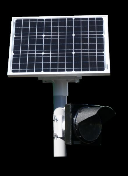 Светофоры с питанием от солнечной батареи