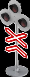 Светофор для автогородка